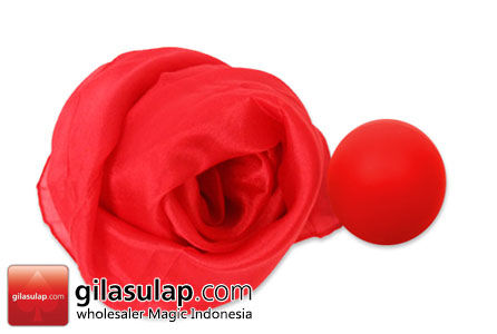 sulap PERFECT SILK TO BALL RED